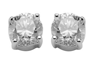 sidabriniai auskarai internetu