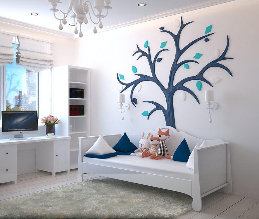 vaiko-kambario-apsvietimas